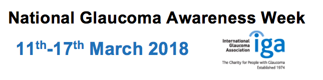 Glaucoma Awareness Week (March 11th-17th)